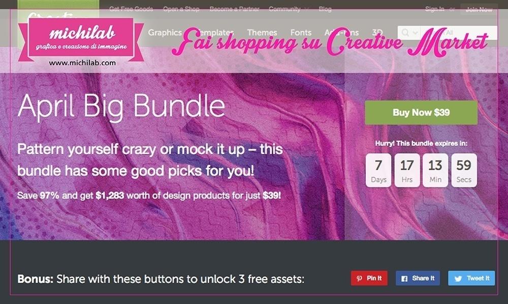 Fai shopping su Creative Market