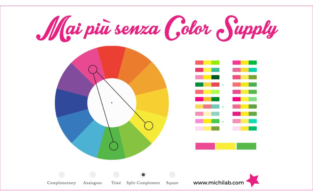 Mai più senza Color Supply