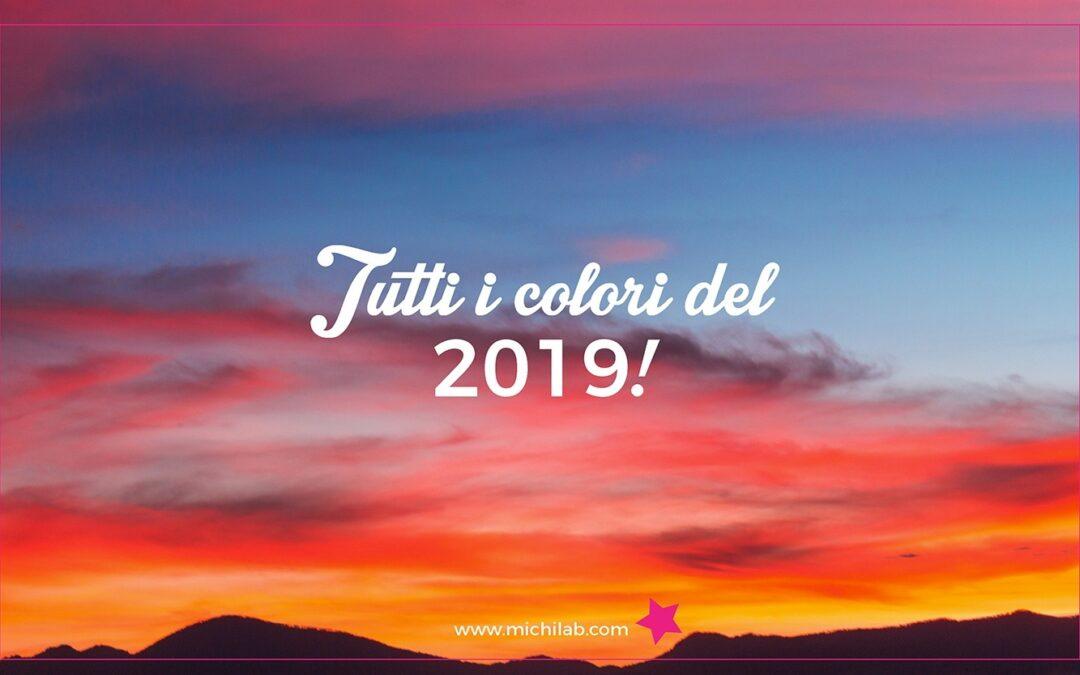 Tutti i colori del 2019!