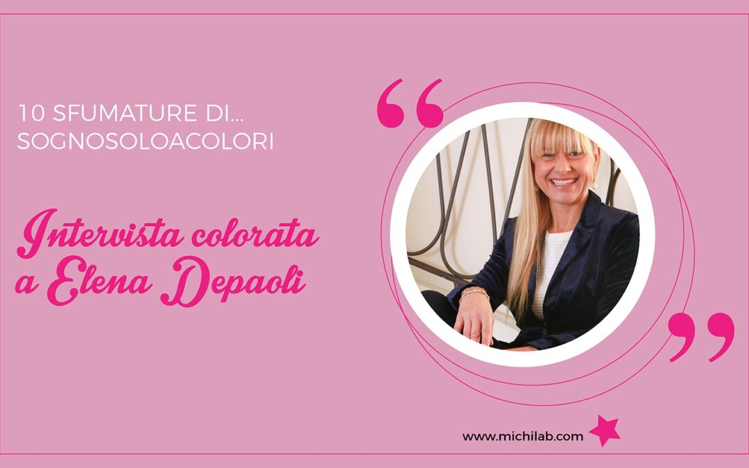 Intervista colorata a Elena Depaoli!